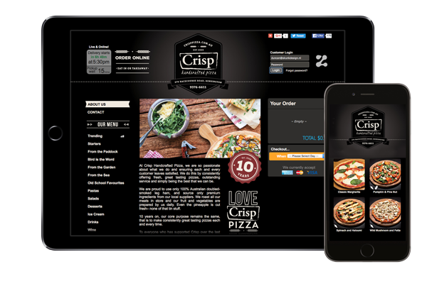 Zwift Online Ordering Website and Online Ordering App for Restaurants and Takeaway Businesses